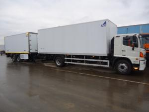 HINO 500 GH8JPTA изотермический фургон общей массой 17 500кг