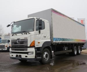 Промтоварный фургон HINO 700 FS1ELVD-QPR до 30,7т.
