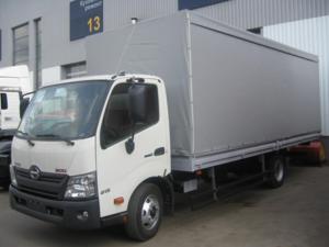 Бортовой фургон HINO 300 XZU720L до 8,5т