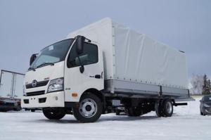Бортовой фургон HINO 300 XZU730L до 7,5т