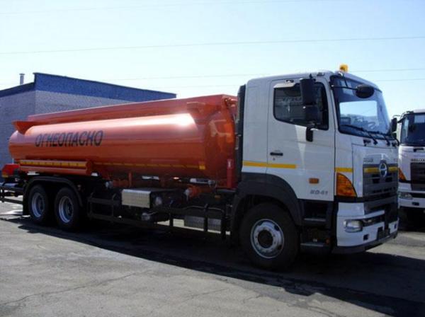 Цистерна HINO 700 FS1ELVD-QPR до 30,7т