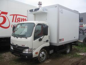 Рефрижератор HINO 300 XZU600L до 3,5т
