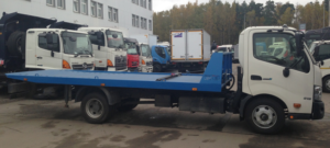 Эвакуатор HINO 300 XZU720L до 7,5т. Сдвижная платформа