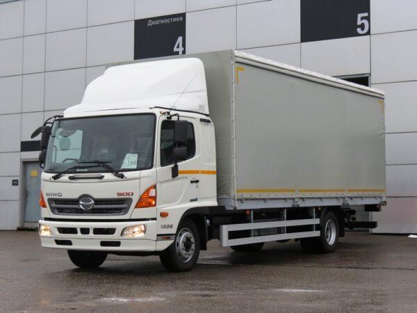 Тентованный бортовой фургон HINO 500 GD8JMUA до 12т