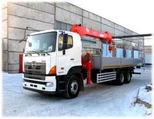 HINO 700 FS1ELVD-QPR до 30,8 т. с КМУ Kanglim KS 2056
