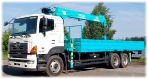 HINO 700 FS1ELVD-QPR до 23 т. с КМУ  HKTC HLC 7016L
