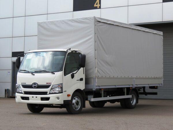 Бортовой фургон HINO 300 XZU730L до 8т