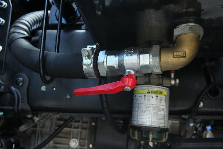Обслуживание топливной системы грузовиков HINO