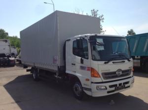 Бортовой фургон HINO 500 GD8JLTA до 12т. Тентованный