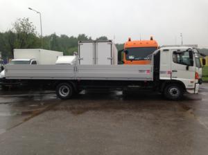Бортовой фургон HINO 500 GD8JMTA до 12т.