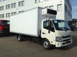 Фургон изотермический HINO 300 XZU710L до 7,5т.