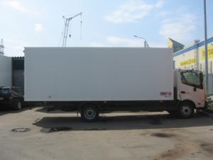 Изометрический фургон HINO 300 XZU720L до 7,5т