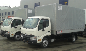 Фургон HINO 300 XZU600L до 3,5т тент