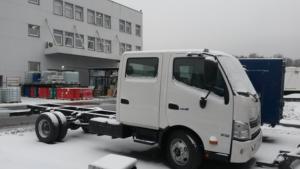 Шасси HINO 300 XZU720L Crew cab до 8,5т